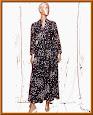 vintage Canda maxi dress