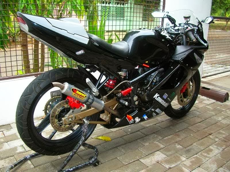 Modifications Kawasaki Ninja 2014 Cool