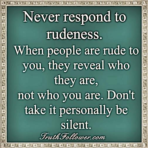 how to change rude behavior