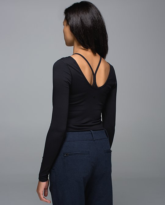 lululemon scoop back ls