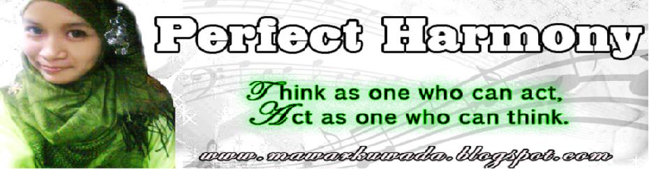 .perfect harmony