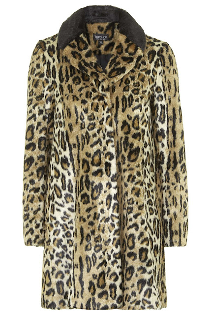 My Holiday Wish List Topshop Leopard Print Coat