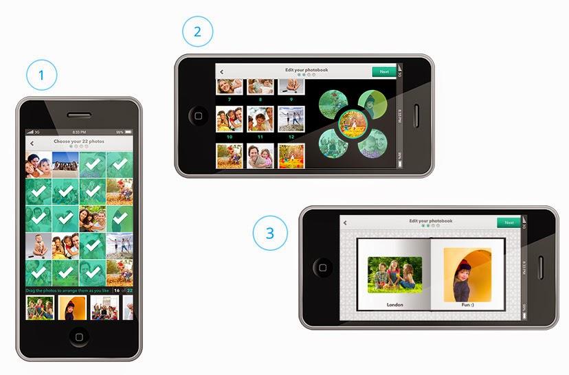 álbum de fotos digital Imprify Photobook