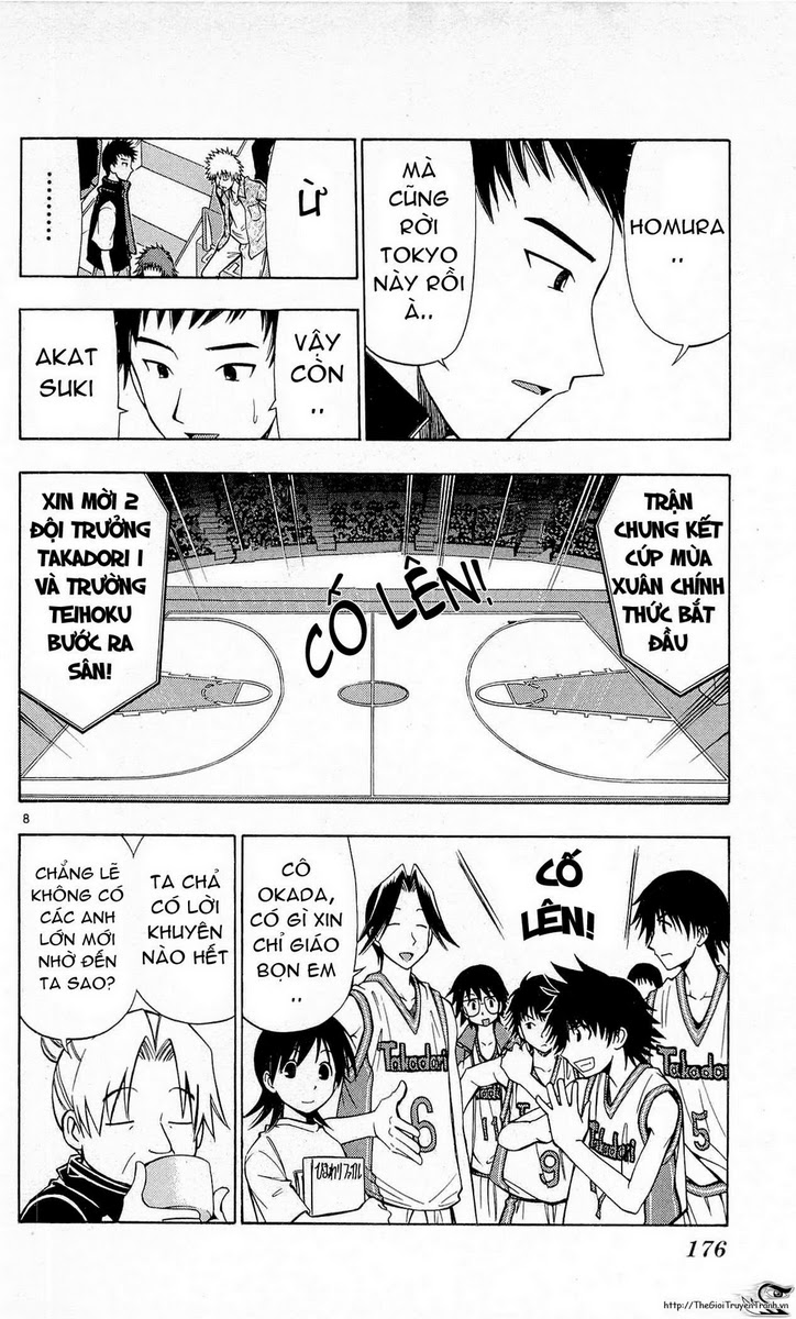 Fight no Akatsuki chap 65 Trang 8 - Mangak.info