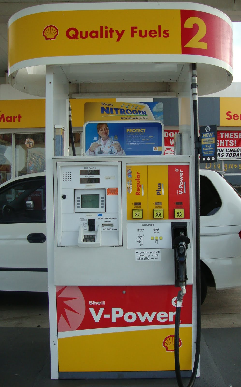 Nearest Gas Stations >> Explore Florida: Shell Gas Station