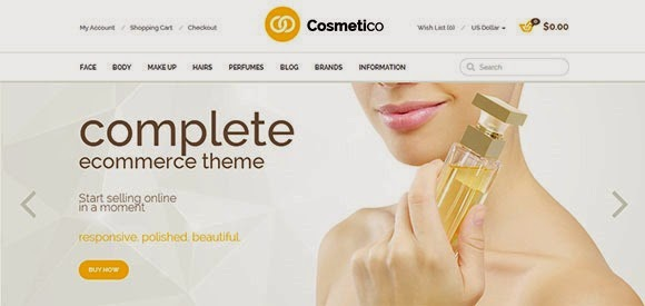 Cosmetico – Responsive OpenCart Template