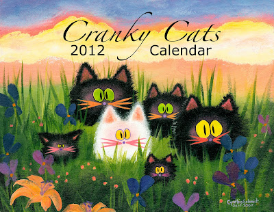 Cranky Cats 2012 calendar