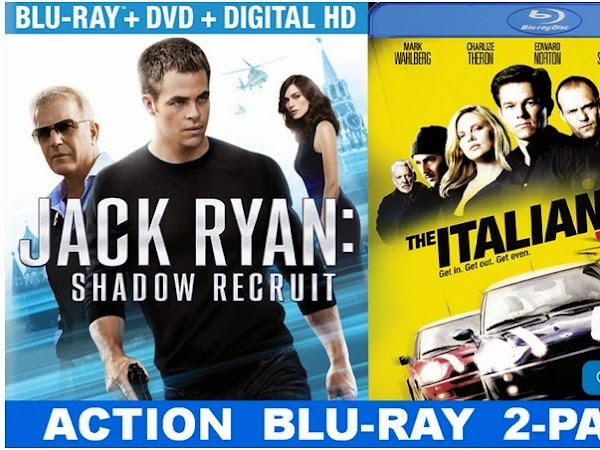Jack Ryan: Shadow Recruit Blu-Ray Release