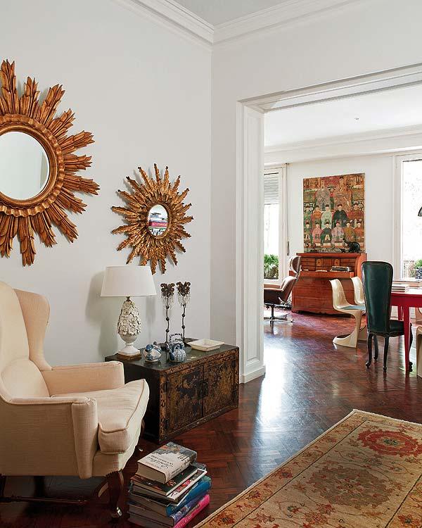 Magistral interpretaci n vintage en una casa de barcelona for Muebles chinos barcelona