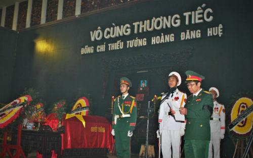 Vĩnh biệt Thiếu tướng Hoàng Đăng Huệ- Người con ưu tú của huyện Hiệp Hòa