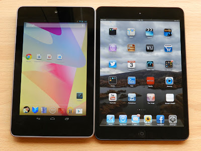 Nexus 7 Tablet Vs iPad Mini - Features & Specs Comparison