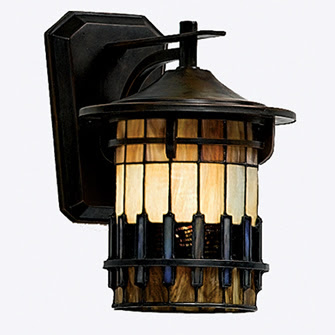 Quoizel TFAR8409BE Autumn Ridge Small Wall Lantern