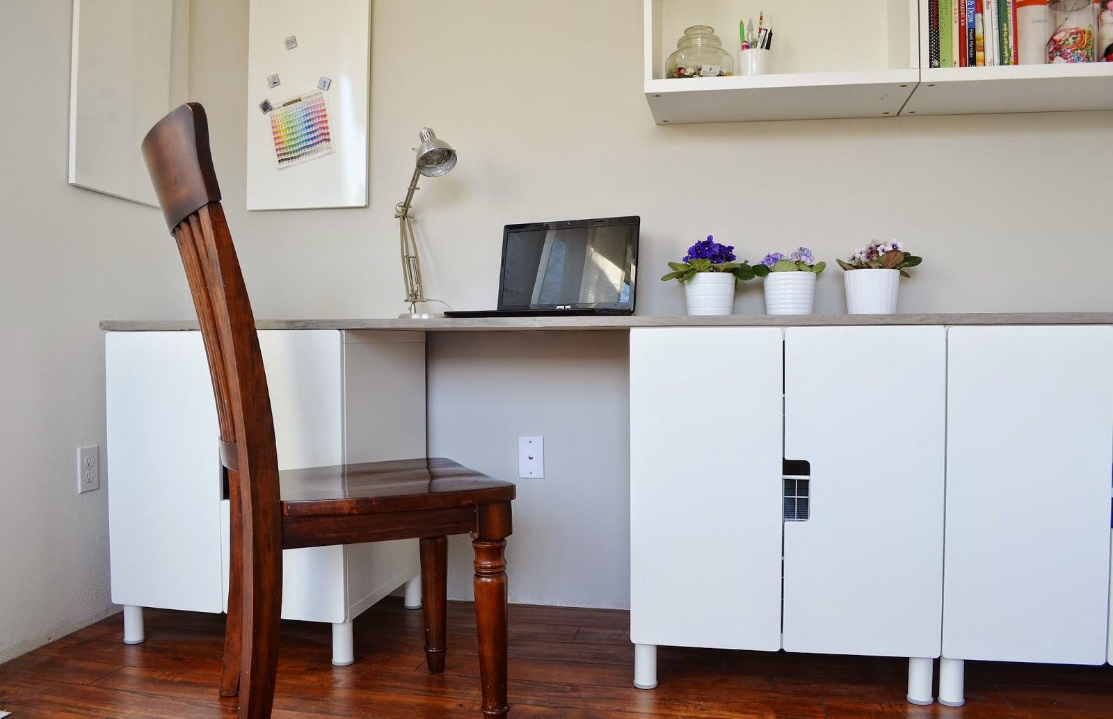 Snugglebug University Ikea Stuva Desk Hack