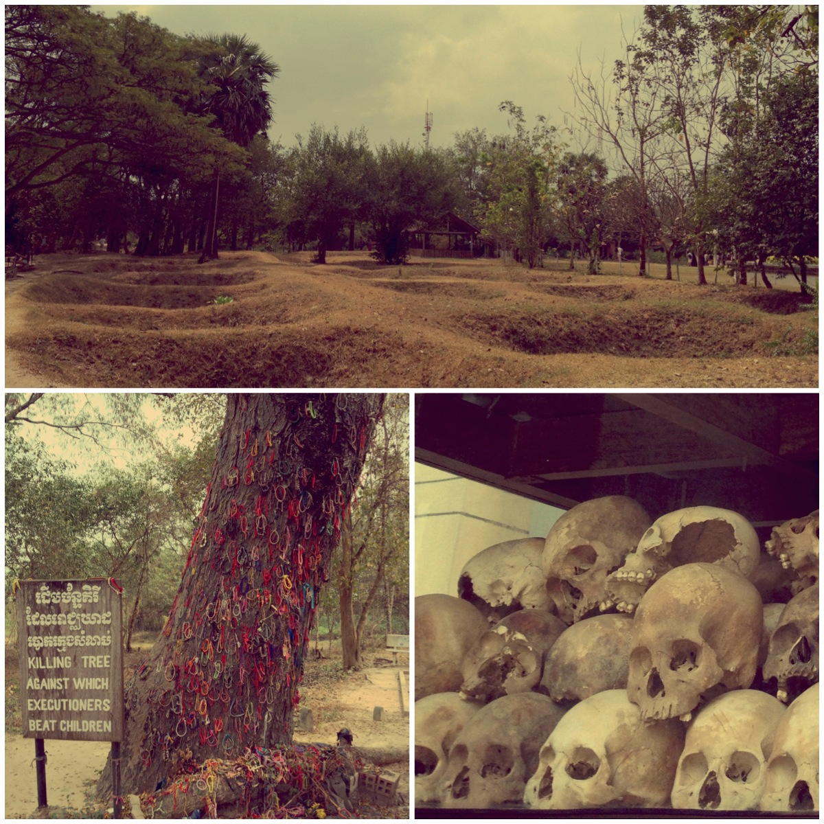 cambodia the inevitability of killing fields The reality of man's inhumanity to fellow man is conveyed in harrowing detail on this visit to the killing fields of cambodia at choeung ek genocidal centre.