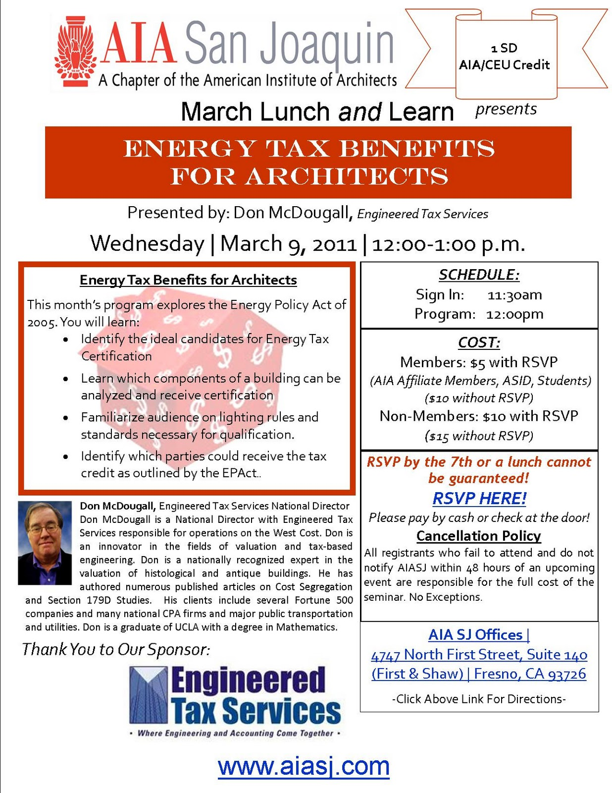 AIA Continuing Education Credits | Lunch and Learn