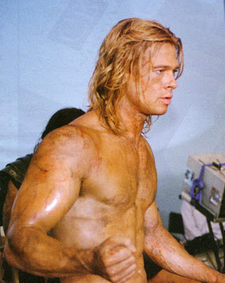 brad pitt troy workout and diet. on his Troy workout, Pitt