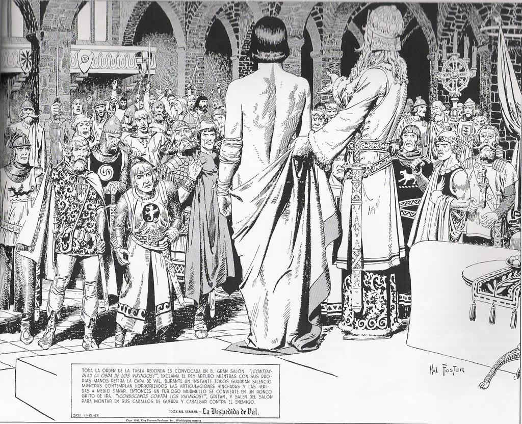 El arte del comic y la ilustración PrincipeValiente