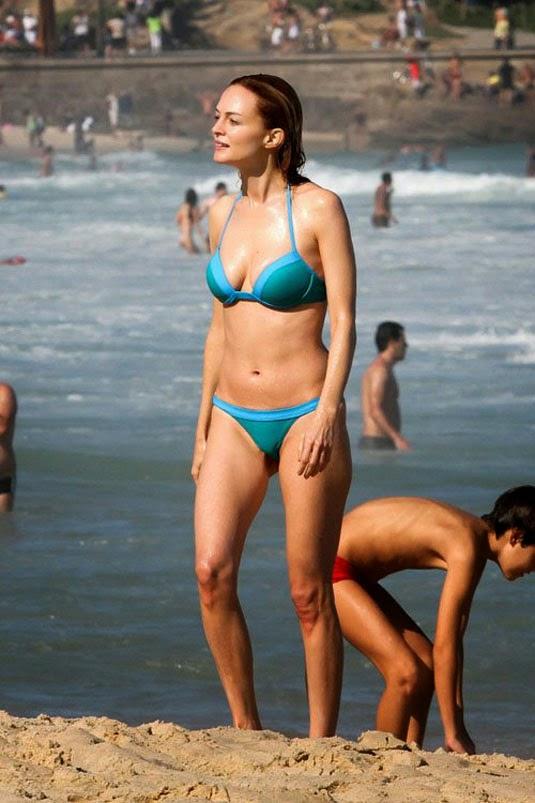 Heather Graham bikini candids in Rio