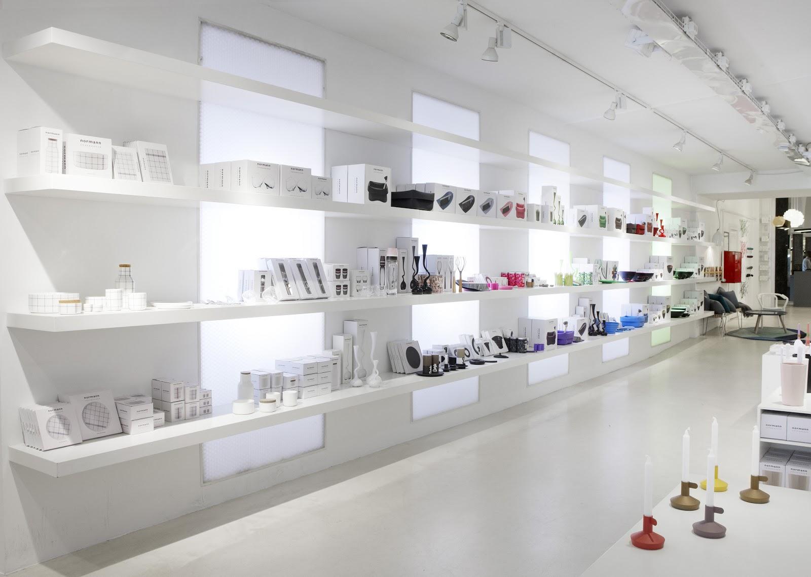 Interior design normann copenhagen flagship store for Normann copenhagen online shop
