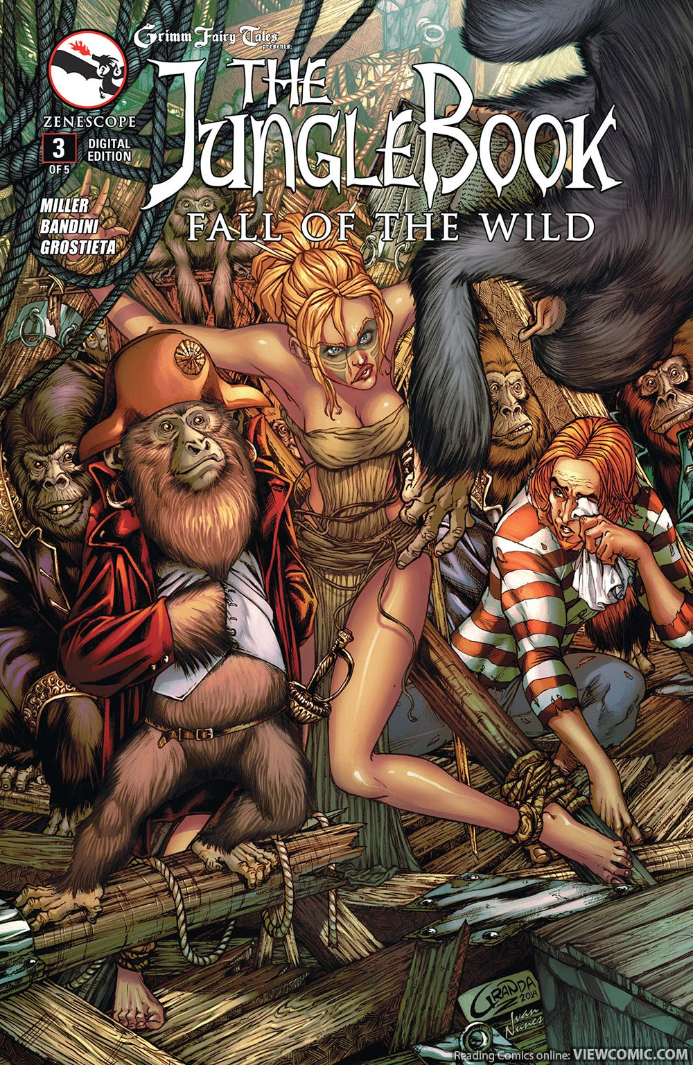 Uncategorized Online Fairy Tales grimm fairy tales presents jungle book fall of the wild 003 2015