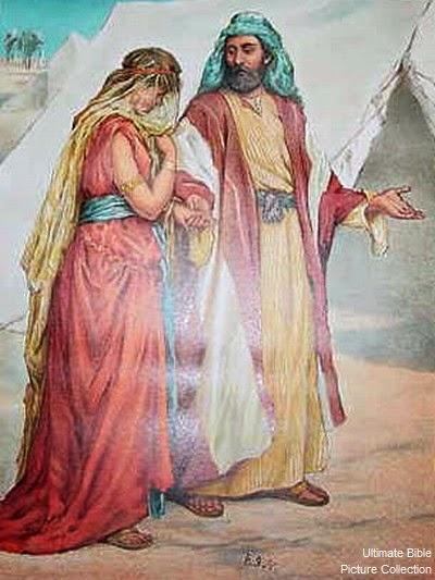 Isaac And Rebekah Telling Secrets...