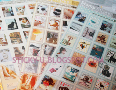 002: Tinki's Vintage Stamp Sticker