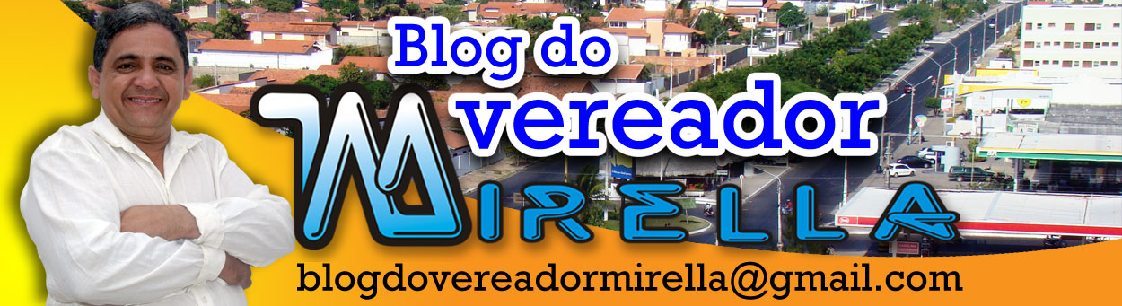 Blog do Vereador Mirella
