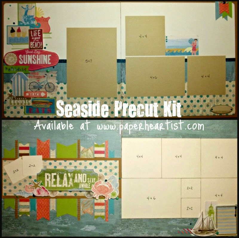 Seaside Precut Kit