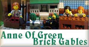 Anne Of Green Brick Gables (A Literary LEGO Project)