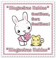"""Selinho """"Blogueiras Unidas""""."""