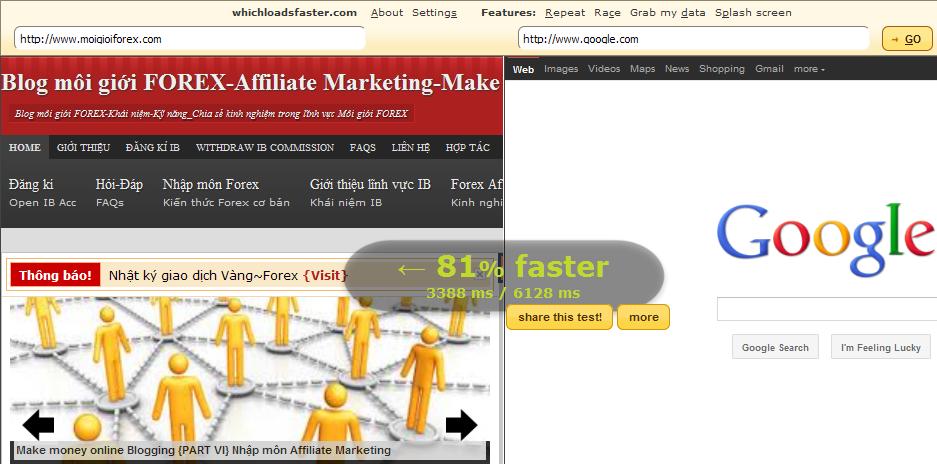 Để có Sitelink và tăng thứ hạng pagerank cho Affiliate Site