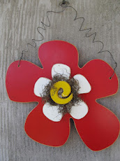 Wooden Summer Flower