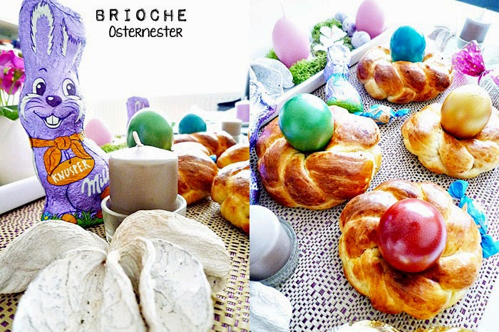 Brioche-Osternester
