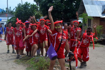 Sport fest parade, Malapascua Exotic island dive resort