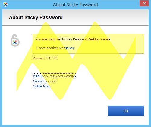 Sticky Password 7.0 Full Crack