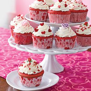 Birthday Cake: Recipes for Red Velvet Cupcakes