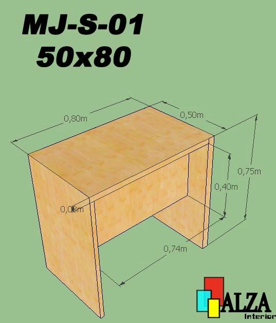 meja karyawan | meja kantor | meja kerja MJ-S-01