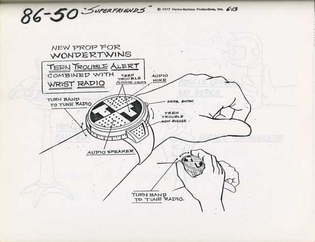 "Super '70s and '80s: ""Super Friends""?Iraj Paran, art director, ..."