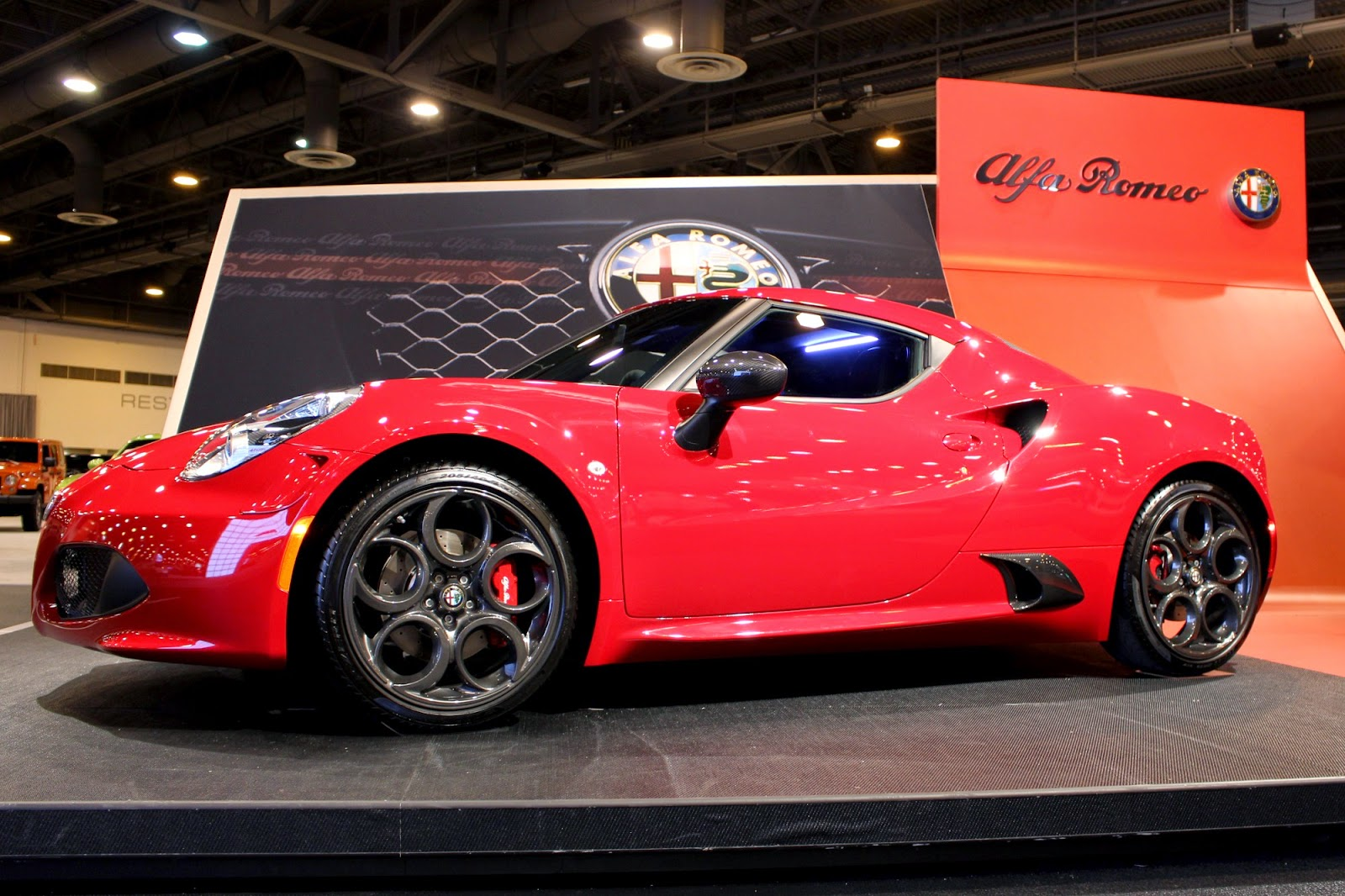 2015 Alfa Romeo 4C Coupe | Houston Auto Show
