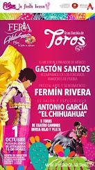 Santos, El Chihuahua y Rivera anunciados en Atitalaquia, Hidalgo, el 01/10.