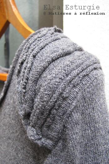 Robe Elsa Esturgie laine grise