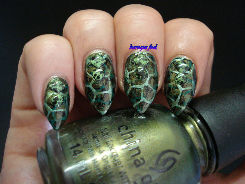baroque fool: Jurassic world nails