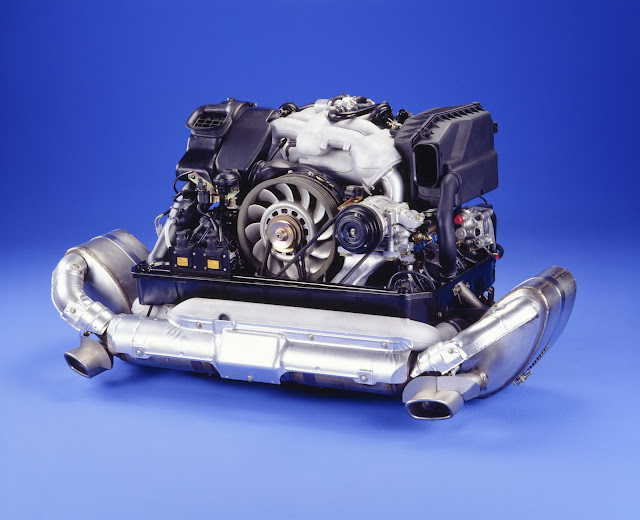 3.6-litre flat-six engine with Varioram system; Porsche 911 Carrera 3.6 (993); 1995