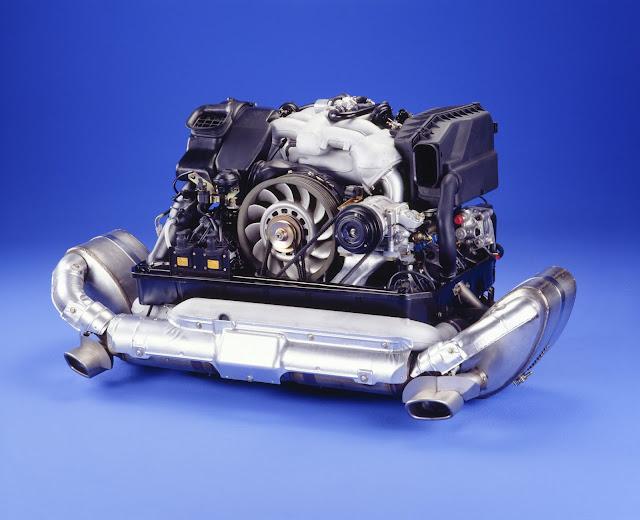 3.6-litre flat-six engine with Varioram system; Porsche 911 Carrera 3.6 (993); 1995