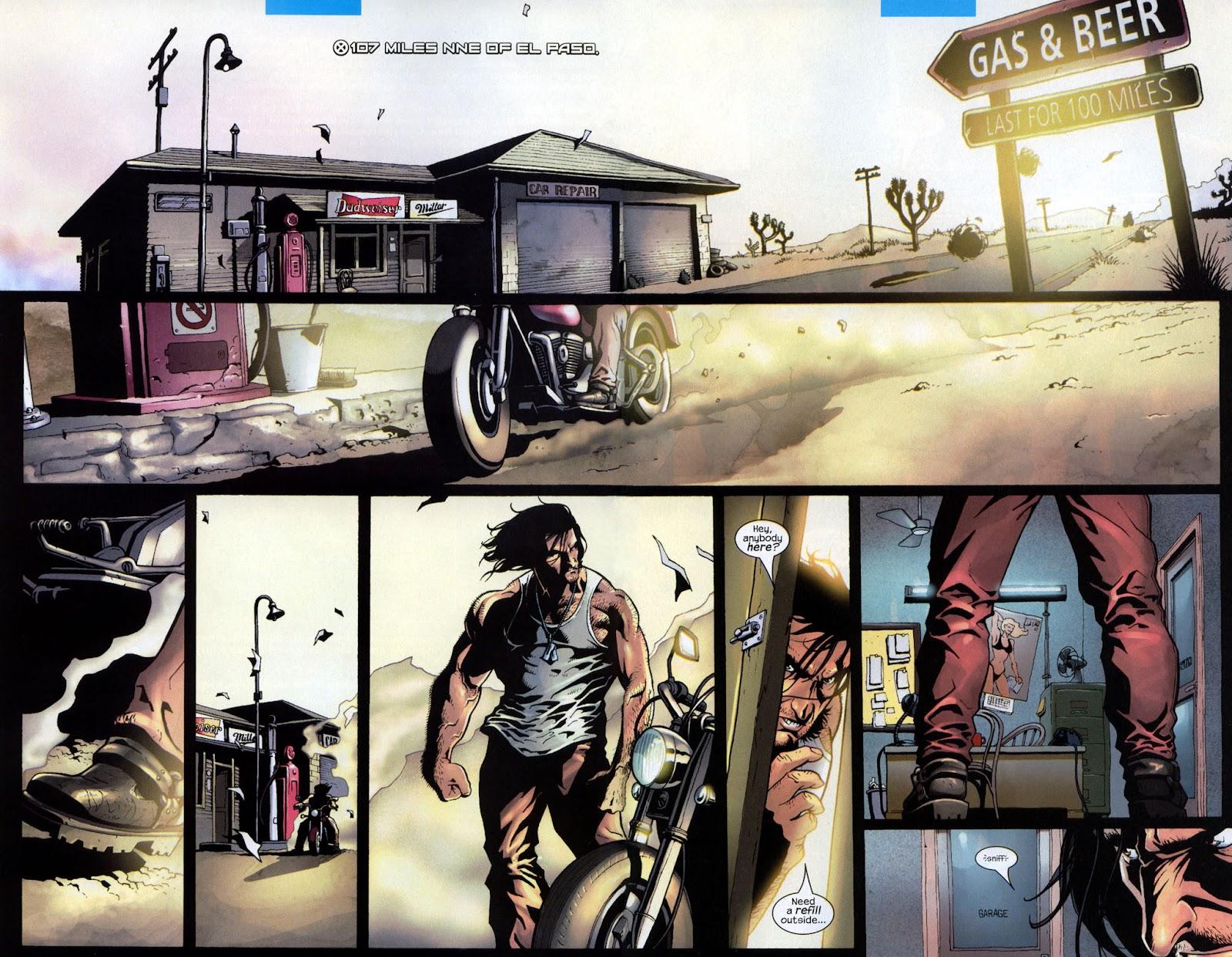 Read online Wolverine (2003) comic -  Issue #7 - 3