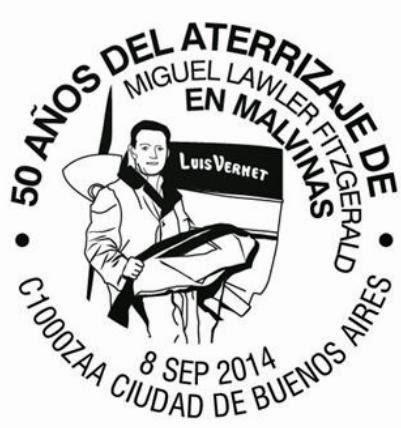 Argetina: 50 años deñ Aterrizaje de Miguel Lawler Fitzgerald en Malvinas.