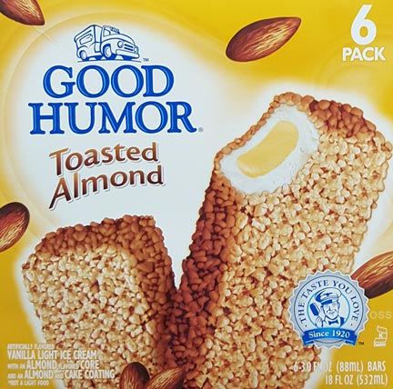 On Second Scoop: Ice Cream Reviews: Good Humor Toasted ...