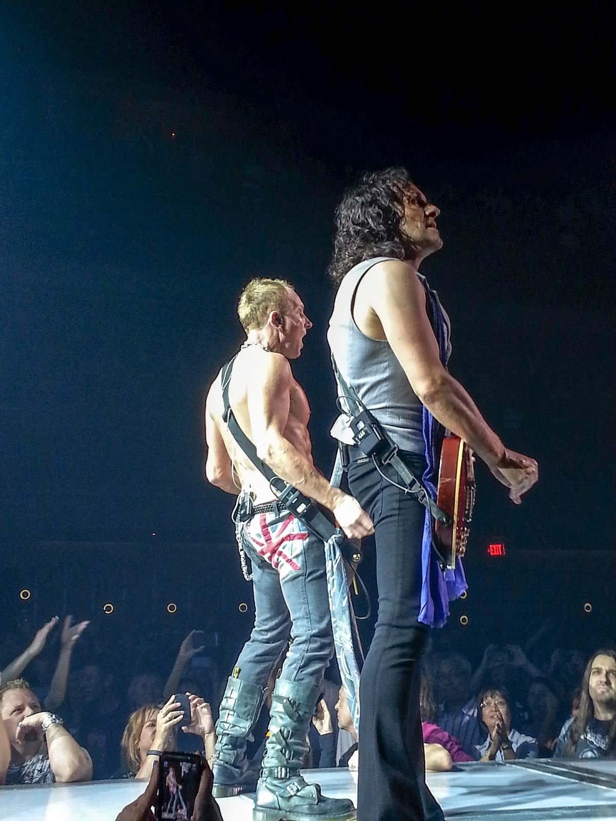 Angie in to viva def leppard phil collen and vivian campbell the guitarists kristyandbryce Choice Image