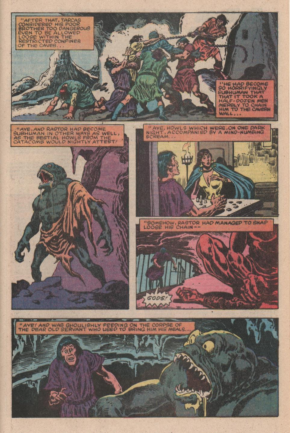 Conan the Barbarian (1970) Issue #156 #168 - English 21