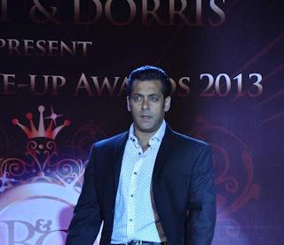 Salman,Hrithik & Kareena at Bharat N Dorris Hair & Make-up Awards 2013